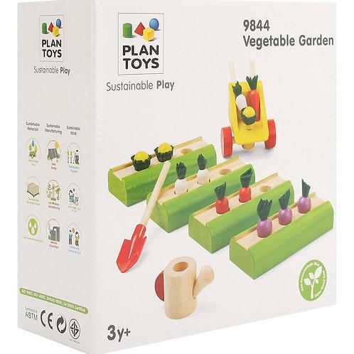 """Набор Plan Toys """"Овощные грядки для кукольного дома"""""""