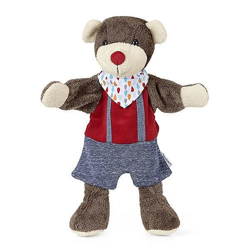 Медведь кукла на руку