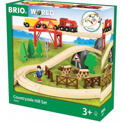 BRIO подарочный набор «Поездка по сельской местности с мостом»