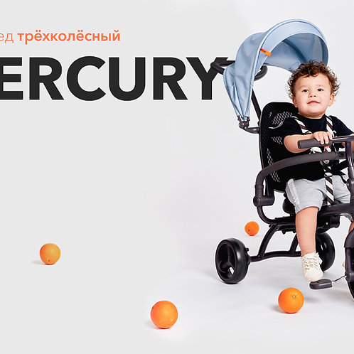 """Велосипед трёхколёсный """"MERCURY"""""""