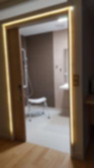 Chemin lumineux appartement résidence des salins de Bregille à Besançon