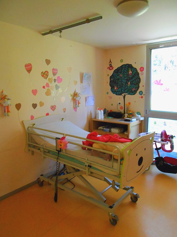 Polyhandicap chambre jeune