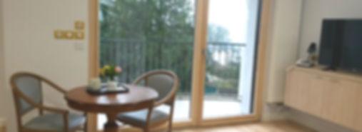 logement premuim vue avec balcon
