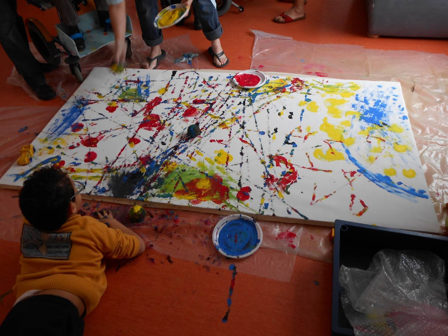 Polyhandicap peinture