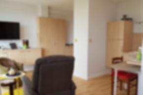coin cuisine studio résidence autonomie salins de Bregille