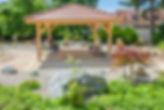 Kiosque de la résidence pour personnes âgées des Salins de Bregille