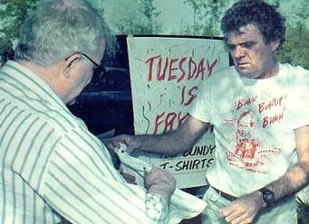 Ted Bundy - Vintage T-shirts