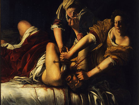 Judith Slaying Holofernes: Violence in Art and Life