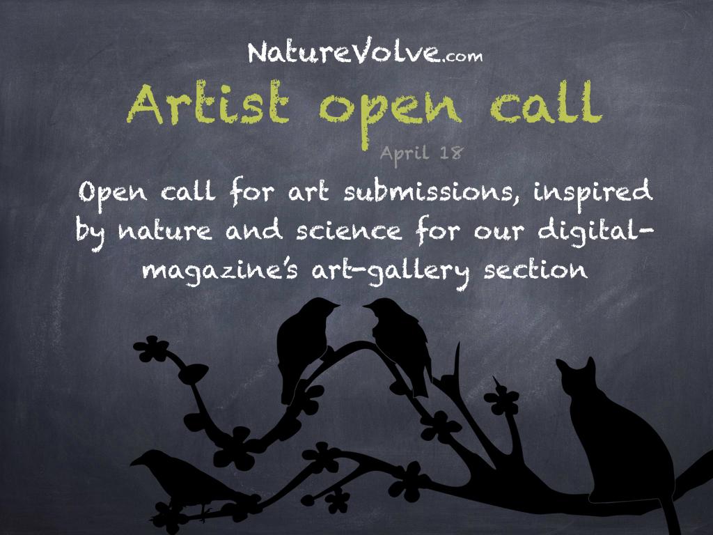 NatureVolve's digital-magazine announces open call for art