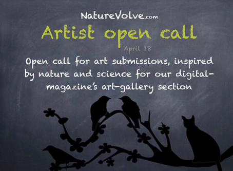 NatureVolve's digital-magazine announces open call for art submissions inspired by nature and sc