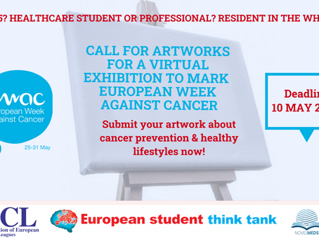 Call for artists: European Week Against Cancer 2020