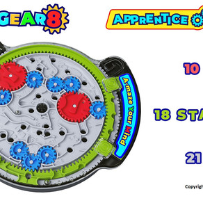 Play-A-Maze Launches The Gear8™ Line of Puzzle Maze Toys