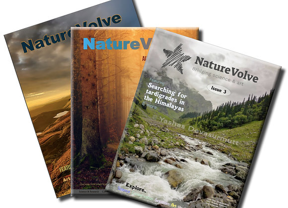 Trio - first 3 issues in 1 (save 20%)