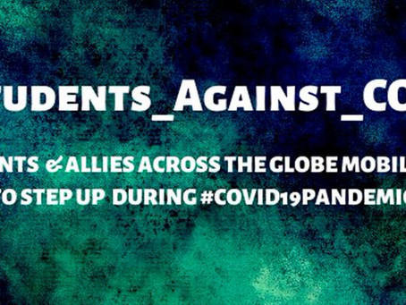 Students & Allies Unite Globally To Launch #Students_Against_COVID