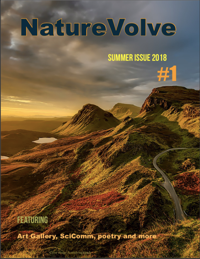 Issue 1 front cover NatureVolve