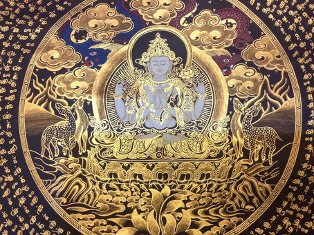 Gammas Art Gallery answers: What is Thangka art?