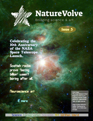 Issue 5 front cover of NatureVolve