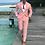 Thumbnail: Men Suits Pink Suits 2 Pieces