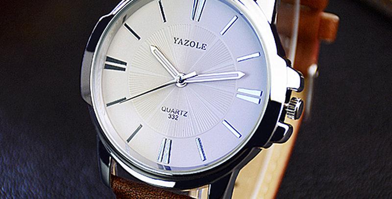 Yazole Quartz Watch Men Top Brand Luxury Famous Business Quartz-Watch