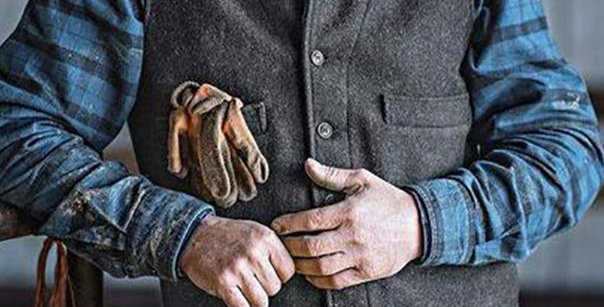 Business Suit Sleeveless Vintage Vest