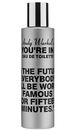"""""""Andy Warhol's You're In"""" (WORLD FAMOUS 100ml natural spray)"""