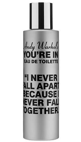 """""""Andy Warhol's You're In"""" (FALL APART 100ml natural spray)"""