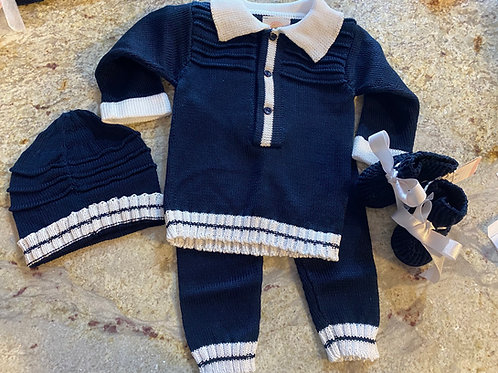 The Carmine Set (without blanket)