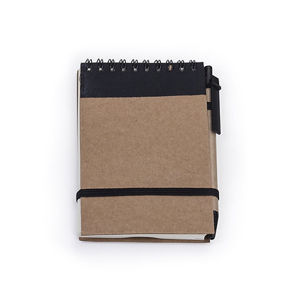 Bloco de anotações com caneta (Cód 12681)