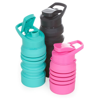 Squeeze Plástico Retrátil 500ml (14438)