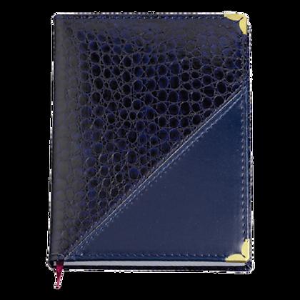 Agenda diária capa croco diagonal (110L)