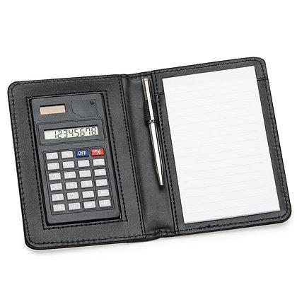 Bloco de anotações com calculadora (Cód 11948)