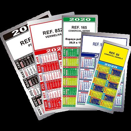 Folhinhas metalizadas S80 / S90 / S165 / S852 / S952