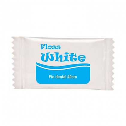 Fio dental Sachet 40cm Floss white (REF cdfd-009)