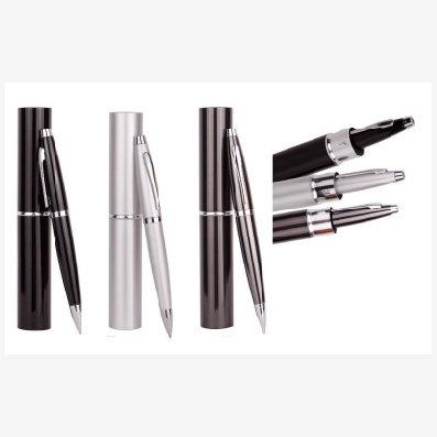 Conjunto caneta com tubo de alumínio (ER183)
