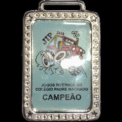 Medalha Retangular Pequena MFPC7