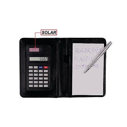 Calculadora com bloco e caneta 93918