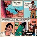 Très vite, la dynamique propre à la bande dessinée prend le pas sur les explications du commentateur.