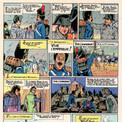 La bande dessinée montre également comment l'empereur forge son image auprès de ses soldats.