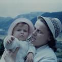 Jacqueline et Christine lors de vacances en Auvergne à l'été 1966…