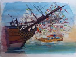 """""""A bord des grands voiliers du XVIIIe siècle"""", Pierre Brochard, 1979"""