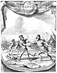 """Duel """"romain"""" vu par un graveur du XVIIe siècle"""