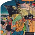 """En 1963, Zéphyr se trouve entraîné dans une nouvelle aventure par une pétulante jeune Espagnole, Pépita. On remarque que le paquebot """"France"""", dont le service à la mer vient de commencer, sert de toile de fond à cette page d'annonce."""