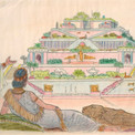 Jardins de la reine Sémiramis à Babylone.