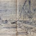 La cache des réfractaires, dans le grenier de la la maison du gardien au Buisson de May