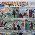 """1957 : l'action se déplace en région parisienne. Dans """"Opération Furet"""", Lestaque se livre à son jeu favori : changer d'apparence. Il parvient ainsi à s'introduire chez les malfaiteurs qui terrorisent un jeune étudiant en chimie."""