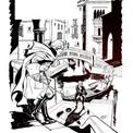 """Auparavant, il publie """"Quand l'Atalante reviendra"""" dont la majeure partie se déroule à Venise."""