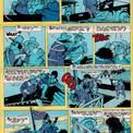 Comme dans chaque épisode, la violence se trouve souvent contrebalancée par des situations humoristiques.