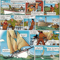 """L'aventure contée dans """"L'Escale du Balaou"""" a pour décor de fond l'île d'Oléron."""