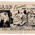 Pour cette occasion, le dessinateur crée Klip l'écureuil, un petit personnage plus insouciant que la plupart de ses contemporains.