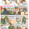 Malgré le sérieux du propos, Pierre a toute latitude pour conserver la vivacité souvent humoristique de son dessin.